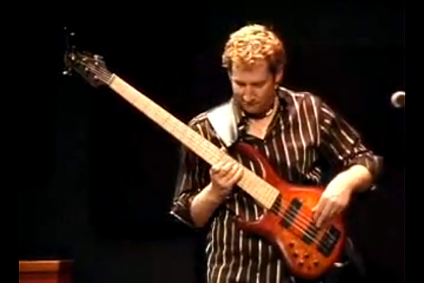 "Jeff Schmidt: ""From Under the Weight of Knowing"" Live Solo Bass"