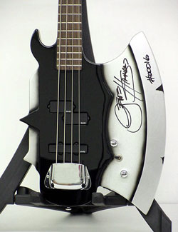 Limited Edition Gene Simmons Axe Bass