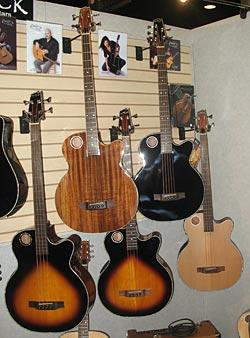 Gear Watch: Boulder Creek Koa Acoustic Bass Guitar