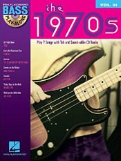 The 1970s: Bass Play-Along Volume 31