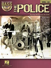 The Police: Bass Play-Along Volume 20