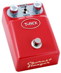 Gear Watch: T-Rex Tonebug Phaser and Chorus/Flanger