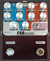 FEA Labs Dual Distortion Pedal