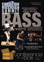 "Christian Musician Summit Releases ""Bass and Drums"" DVD Workshop with Abraham Laboriel"