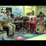 Todd Smallie and Yonrico Scott Teach Jazz To Kids