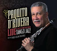 """Pablo Aslan Releases """"Tango Jazz"""" With Paquito D'Rivera"""