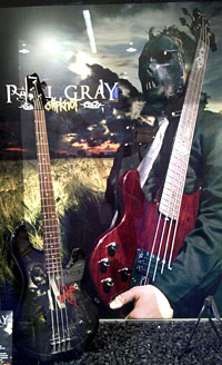 Paul Gray Tribute Bass