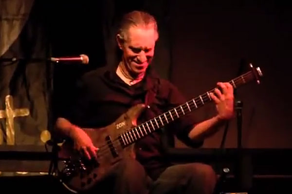 "Michael Manring: ""Born to Be Wild"" Solo Bass Performance"