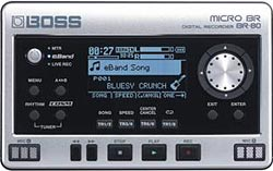BOSS Releases Micro BR BR-80 Digital Recorder
