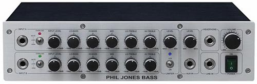 Phil Jones Pure Sound D-600 Dual Channel Digital Bass Amp