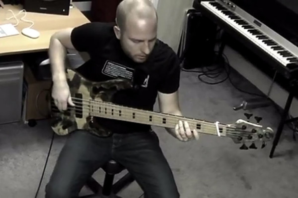 Jayme Lewis and Voyce McGinley III: Cool Bass & Drums Jam