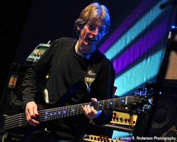 Phil Lesh with Eye of Horus bass