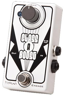 Pigtronix Releases Class A Boost Pedal