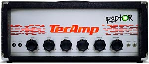TecAmp Celebrates 25th Anniversary with Raptor Head and Cabinet