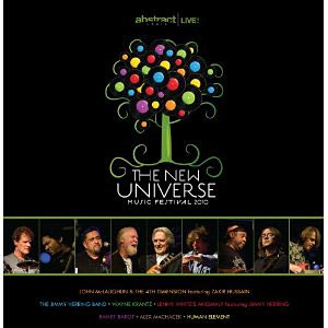 """Abstract Logix Releases """"The New Universe Music Festival 2010"""" Live CD Set"""