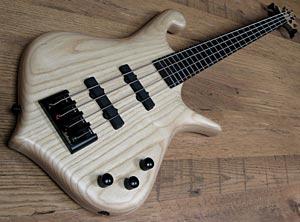 Luthman Basses Announces Mystic First Custom Bass