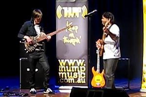Victor Wooten and Dane Alderson Jam