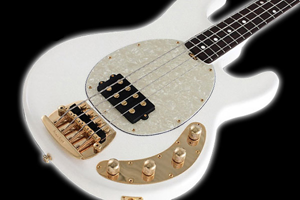 Ernie Ball/Music Man Unveils Limited Edition Gilded White Classic StingRay