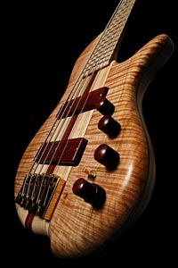 May Custom Bass close-up