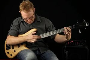 "Stuart Clayton: ""Shape of My Heart"" for Solo Bass"