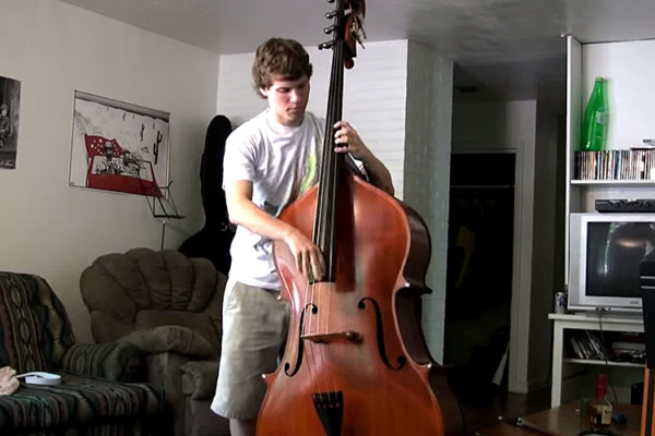 "Steve Metcalf: Red Hot Chili Peppers ""Can't Stop"" Upright Bass Cover"
