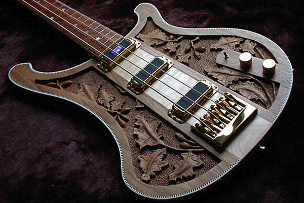 Bass of the Week: Rickenbacker Limited Edition Lemmy Kilmister Signature 4004LK