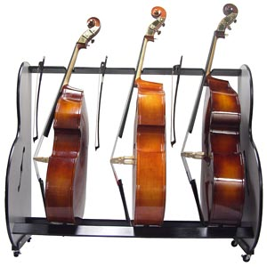 BandStorage.com Introduces the Band Room Double Bass Rack