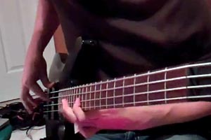 "Bass Play-Along Week: Alex Myers' RHCP ""Around The World Bass"" Bass Play-Along"