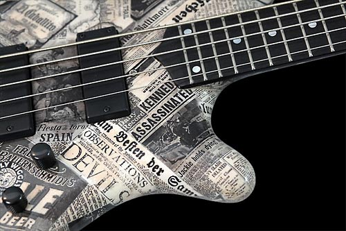 Mayones Elegance 5 Paper Bass Lower Bout