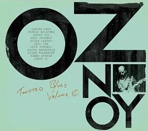 "Oz Noy Releases ""Twisted Blues"", Featuring Roscoe Beck and Will Lee"