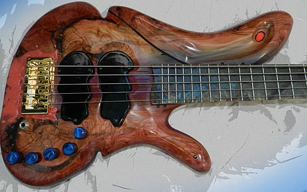 Bass of the Week: JanAid Guitars' Bob Abbott Yolanda 5