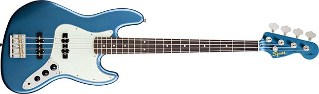Squier James Johnston Signature Jazz Bass