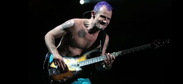 2011 Readers' Favorite Bassists – #10: Flea