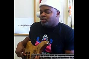 Anthony Wellington: Christmas Medley Bass Loop Jam