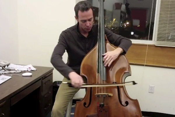 """Craig Butterfield: Charlie Parker's """"Donna Lee"""" on Double Bass"""