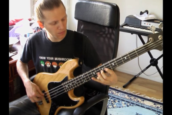 "Johan Hansén-Larson: Note-for-Note Bass Performance of Cannonball Adderley's Solo on ""Minority"""