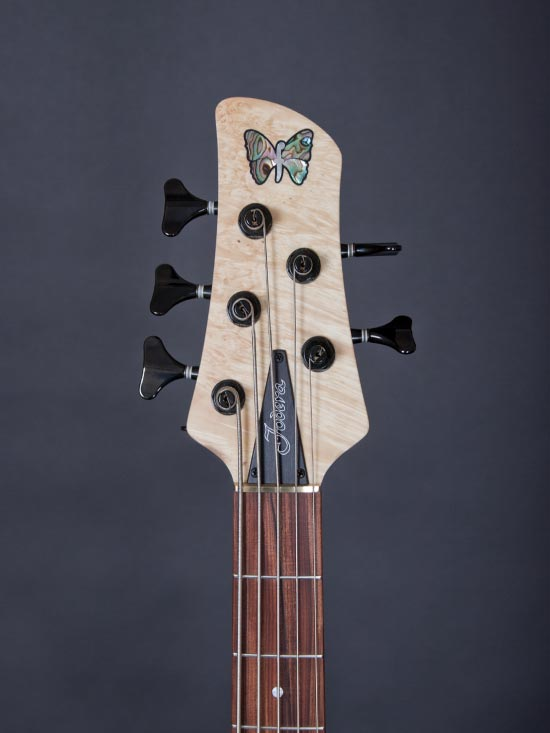 Fodera Matt Garrison Standard Bass - headstock