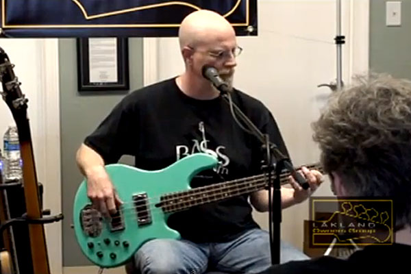 "Ed Friedland: Looping Bass Version of Steely Dan's ""Do It Again"""