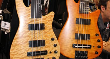 NS Design Unveils NS Bass Guitar at NAMM 2012