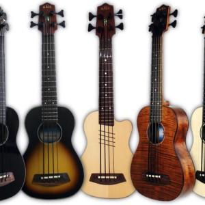 Kala Introduces Five New U-Basses for 2012