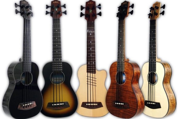 Kala Introduces Five New U-Basses for 2012