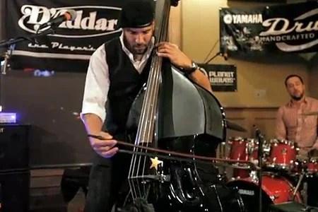 Miles Mosley: Bass Bash Performance (NAMM 2012)