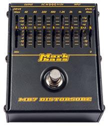 Markbass MB7 Distorsore Pedal