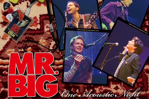 "Mr. Big Releases All Acoustic ""Live From the Living Room"""