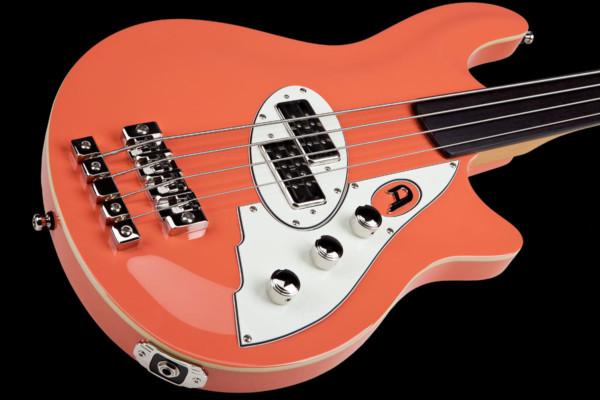 Duesenberg Introduces D-Bass Fretless Bass