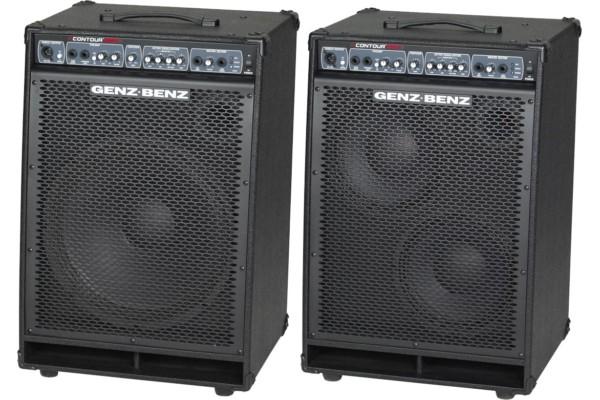 Genz Benz Introduces Contour 500 Series Combo Bass Amps