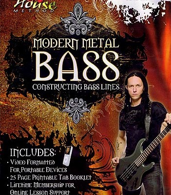 "Disturbed Bassist John Moyer Releases ""Modern Metal Bass"" Instructional DVD"