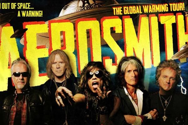 "Aerosmith Reveals ""Global Warming"" North American Tour"
