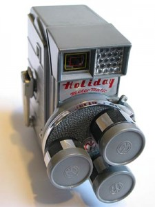 Old time film camera