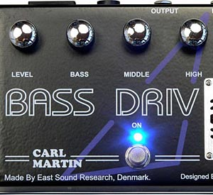Carl Martin Introduces Bass Drive Pedal